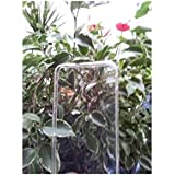 Pcmoviles -- funda Gel silicona tpu liso color Blanco transparente para Alcatel one touch POP D5