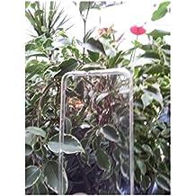 Pcmoviles -- funda Gel silicona tpu liso color Blanco transparente +1 protector pantalla para HUAWEI ascend Y600