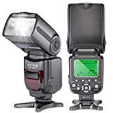 Neewer® NW-565 EXC E-TTL-Slave Speedlite Flash Blitzgerät Blitzlicht mit Blitz-Diffusor