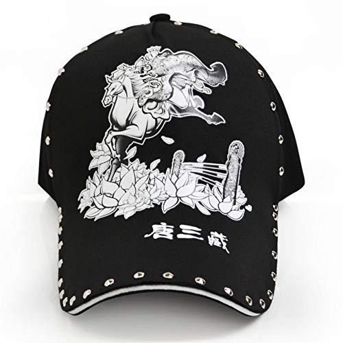 MAOZIJIE Lässige Baseball-Cap Für Männer Frauen Monkey King Reise In Den Westen Goku Hut Snapback Hip Hop Caps Erwachsene Geburtstag Geschenk