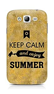 Amez Keey Calm and Enjoy Summer Back Cover For Samsung Grand Neo Plus