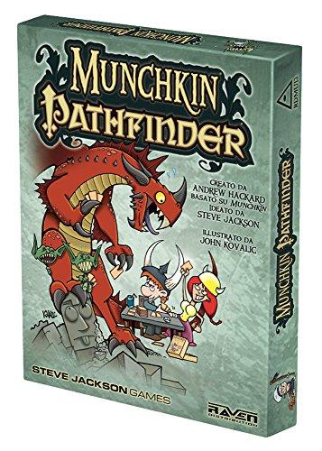 Raven Munchkin Pathfinder-Spiel von Karten