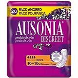Ausonia Discreet Extra Compresas para Pérdidas de Orina - 20 unidades