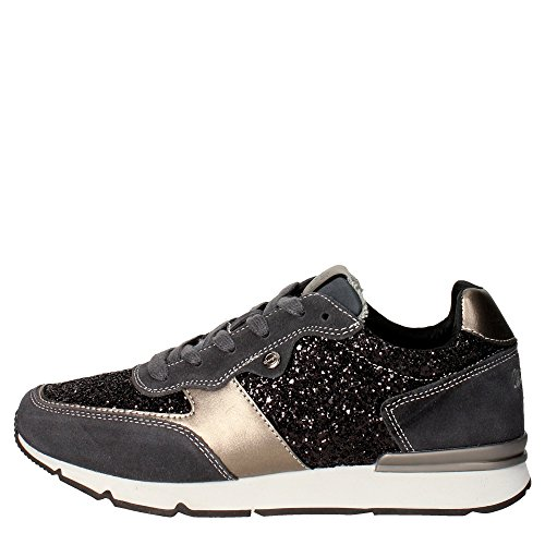wrangler-wl162651-sneakers-women-suede-glitter-charcoal-grey-charcoal-grey-38