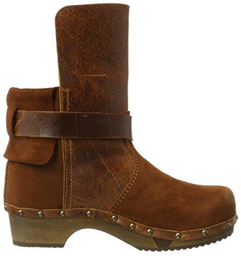 Sanita Nora Basic Flex Boot, Bottines Non Doublées Femme Marron - Braun (Cognac 15)