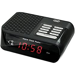 Trevi RC 827 D Reloj Negro - Radio (Reloj, Negro, 140 mm, 114 mm, 40 mm, 310 g)
