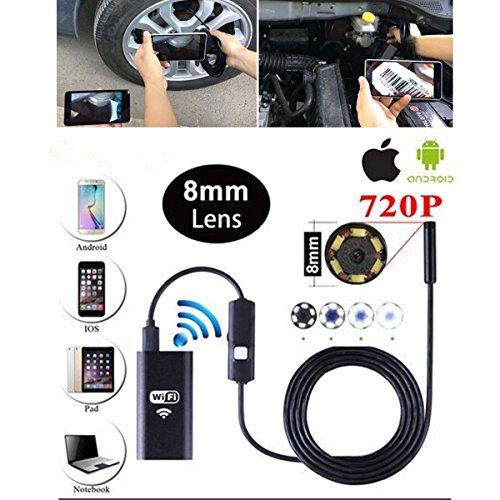 Preisvergleich Produktbild WiFi Endoskop Wasserdichte Endoskop Inspektion,  50 Kamera,  6 Für Innen Struktur