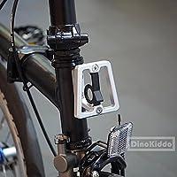 Mate Plata CNC Front Carrier bloque para Brompton Bicicleta Plegable ...