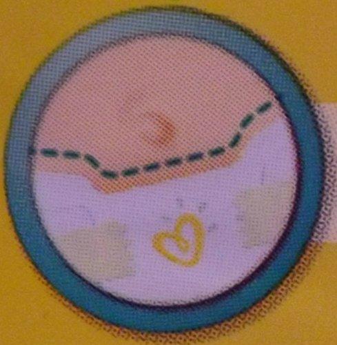 Windeln New Baby Größe 0 micro (1-2,5 kg) – Packung x 24 Windeln - 6