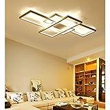 Moderna lámpara LED de techo para salón, regulable, pantalla de acrílico, lámpara de techo...