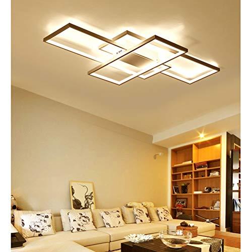 Moderna lámpara LED de techo para salón