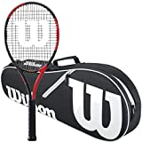 Best Wilson Balance Beams - Wilson BLX Fierce Pre-Strung Midplus 16x19 Extended Black/Red Review