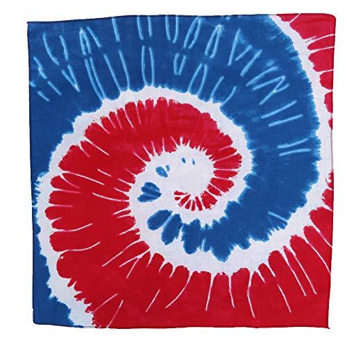 c Swirl Tie-Dye - Rot - Einheitsgröße ()