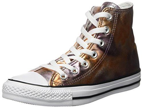 Mehrfarbig 39 Converse Ctas Hi White/Black Sneaker a Collo Alto Unisex sje