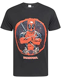 Marvel Deadpool Arms Crossed Men's T-Shirt