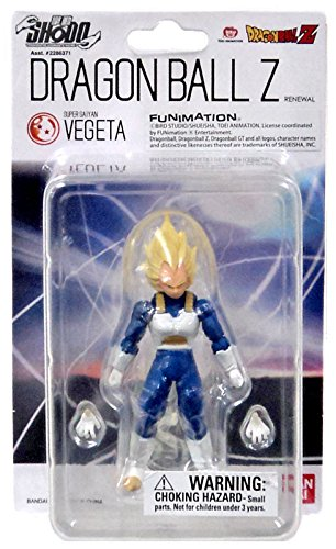 DRAGON BALL Z - Figurine Shodo Super Saiyan Vegeta