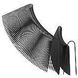 100x 15,2cm/150MM da giardino a forma di U picchetti di fissaggio–ideale per fissare pacciamante, paesaggio, tessuto rete, Ground fogli e pile