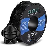 SUNLU PLA+ Filament 1,75mm avec SUNLU Upgrade 1kg Spool (2,2lbs), Tolérance +/- 0,02 mm, convient à la plupart des Imprimante FDM