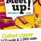 Let's Meet up ! - Anglais 2de Éd. 2018 - Coffret CD/DVD
