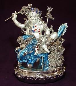 Feng Shui Import Bejeweled Dzambhala Blanc de Richesse
