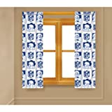 NFL New York Giants Curtain Panel (Pair)
