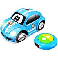 Bburago Maisto France–Vehicle RC My 1st Baby Ladybird Clock, 92003b, Blue - Compare prices on radiocontrollers.eu