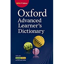 Oxford Advanced Learner's Dictionary: Oxford advanced learner dictionary. Con DVD