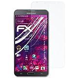 atFoliX Pellicola Protettiva in Vetro plastica per Samsung Galaxy Note 3 Neo SM-N7505 Pellicola Vetro, 9H Hybrid-Glass FX Vetro temperato da plastica Protettivo
