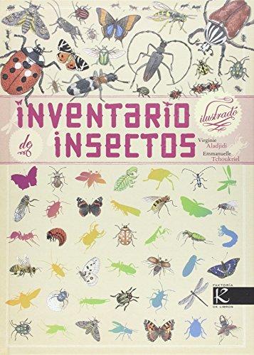 Inventario ilustrado de insectos por Virginie Aladjidi