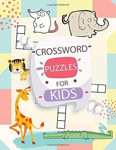 Crossword Puzzles For Kids: Crossword Easy Puzzle Book Game With Easy Picture And Word Search For Young Children