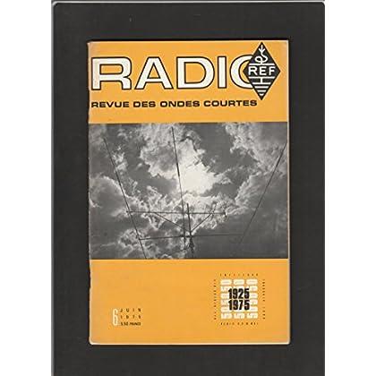 Radio REF [No 6 de Juin 1975] Revue des ondes courtes