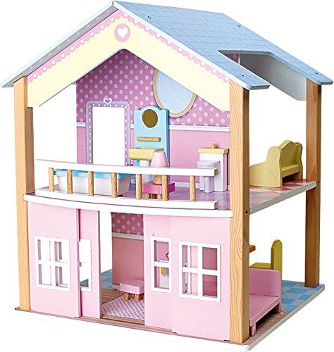 Legler Puppenhaus Spielspaß auf 2 Etagen