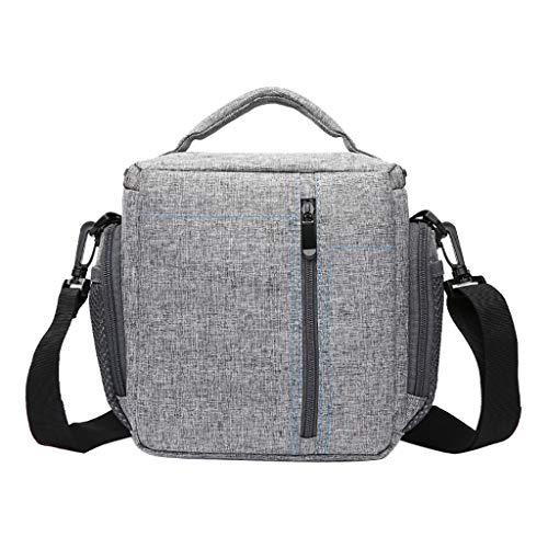 Fcostume Neue Kamera Rucksack Tasche Wasserdichte Hülle Für Canon Für Nikon Für Sony (Grau)