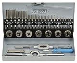 KS Tools 331.0632 HSS Gewindeschneidwerkzeug-Satz, 32-tlg.