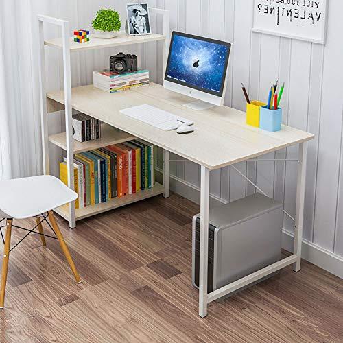 YQ WHJB Computer Schreibtisch Mit Ablagen,Home Schreiben Computertisch,Multipurpose Workstation Office Schreibtisch Computer-Tabelle-d 120x45cm(47x18inch) - Tür-hardware Wagen