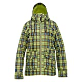 Burton Damen Snowboardjacke WB Method JK, Aloe Gypsy Plaid, S, 253751