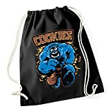 Cookies Gymsack Black Certified Freak