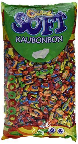 Cool Soft Kaubonbons | vegan und glutenfrei | im  Beutel, 1er Pack (1 x 3 kg)