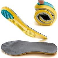 Boowhol--Einlegesohle Sport Einlegesohle hohe elastische atmungsaktive Stoßdämpfung Verdickung absorbieren Schweiß... preisvergleich bei billige-tabletten.eu