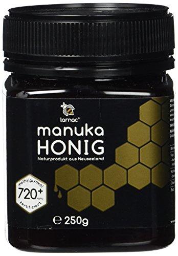 Larnac Manuka Honig 720+ MGO aus Neuseeland, 250g, zertifizierter Methylglyoxalgehalt