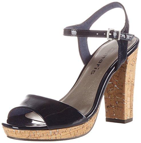 Tamaris Schuhe 1-1-28002-38 Damen Sandaletten, Pumps, High Heels Lila (Lavender Pat.), EU 38