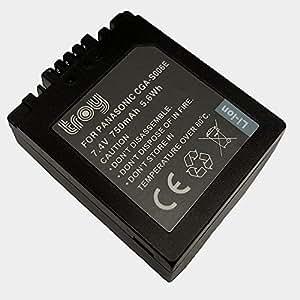Batterie pour Panasonic Lumix DMC-FZ7 DMC-FZ30 DMC-FZ38 DMC-FZ50 CGR-S006E
