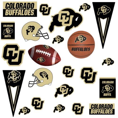 RoomMates rmk1229scs Universität Colorado Peel & Stick Wandaufkleber -