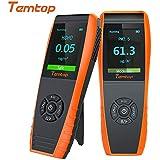 Temtop LKC-1000 series Monitor de calidad del aire interior Detector Prueba precisa de formaldehído (HCHO) TVOC PM2.5 / PM1.0 / PM10 Prueba de contaminación de la calidad del aire
