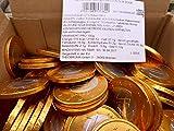 Schokoladenmünzen Euros aus Schokolade, ca. 185 Münzen (1 und 2 EUR) lose im Karton Bulk 1kg