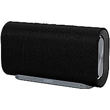 AUKEY Altavoz Bluetooth 20W con Tiempo de Reproducir de 12 horas y con Tela Tejida para iPhones, iPads, Echo Dot, Samsung, Android phones y Más (Versión Actualizada)