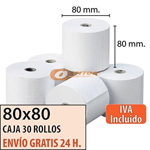 30-Rollos-Papel-Trmico-80x80-Envo-Gratis-Urgente