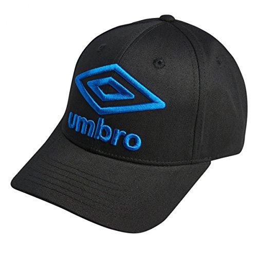 Imagen de umbro t101 1  béisbol, negro+azul, 100% algodón, talla única, bordado adultos unisex alternativa
