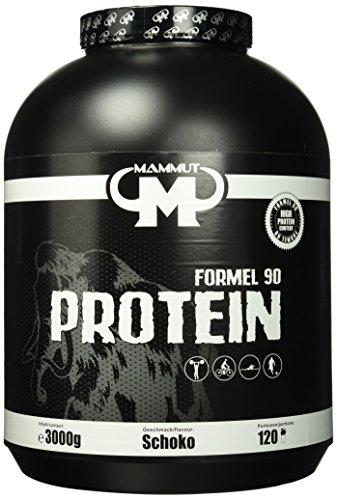 Mammut Formel 90 Protein, Schoko, 3000 g Dose (Frauen Weight Gain Pulver)