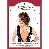 The Glam Tattoo Company - Tatuajes metálicos temporales, color dorado (Comunicación Grafica 20140001)